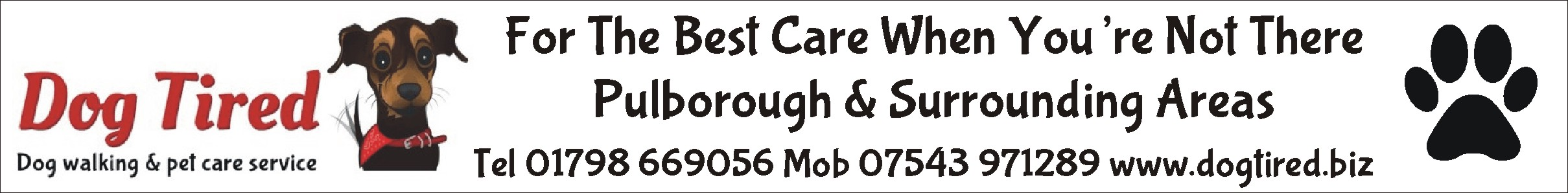 For the best dog care in Pulborough!